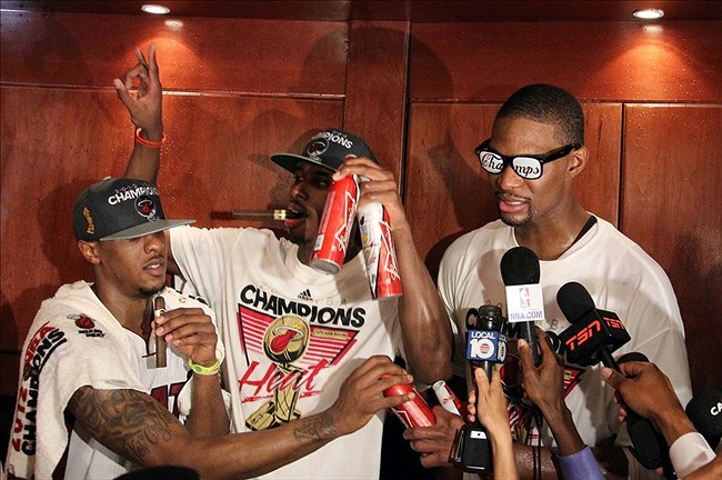 2012 Nba Champions Miami Heat It Starts With One It Ends With One Awol Sports