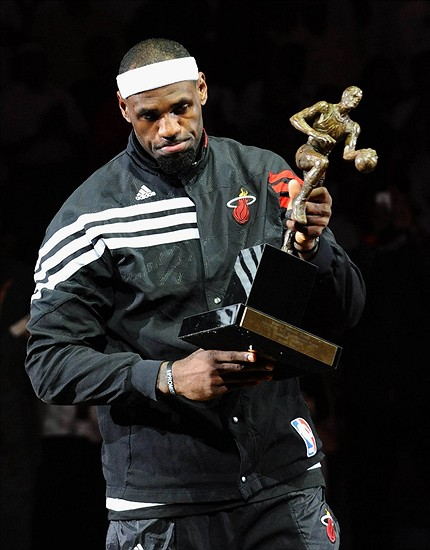 Is LeBron James The Favorite To Win His 4th MVP Award?