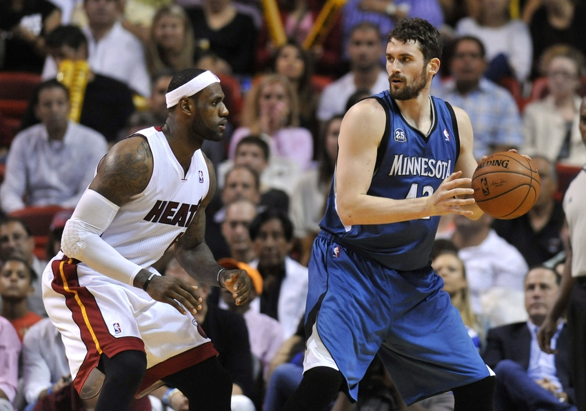 Chris Bosh vs  Kevin Love: Player Debate