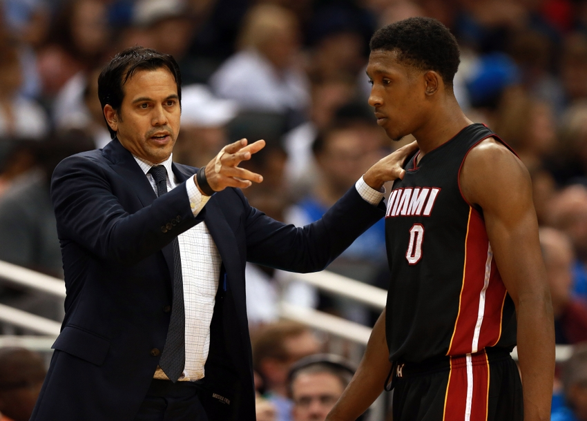 b5e010039 Erik Spoelstra will rely on youngsters to set the Miami Heat s tone on  defense