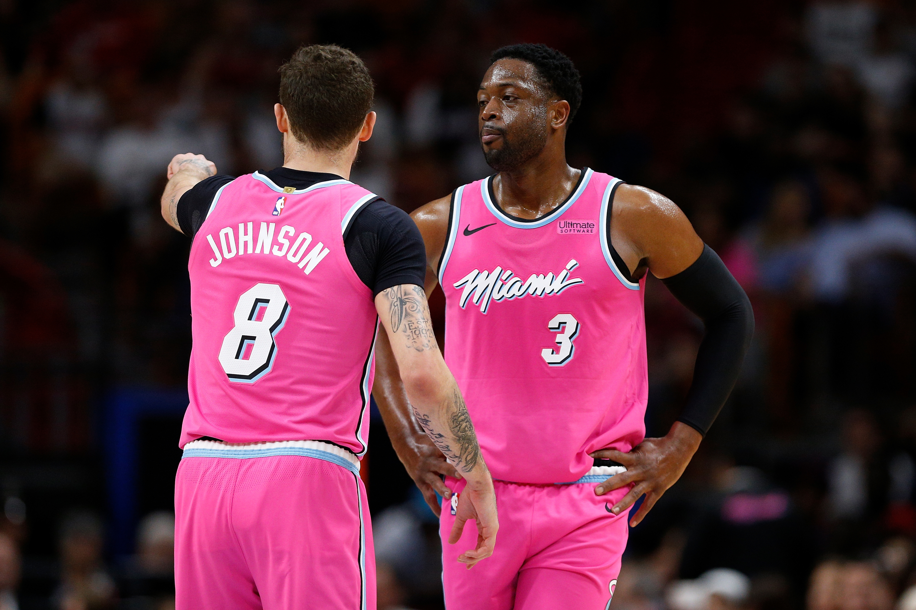 Miami Heat 3 Former Guards Sit Waiting On The Free Agent Market