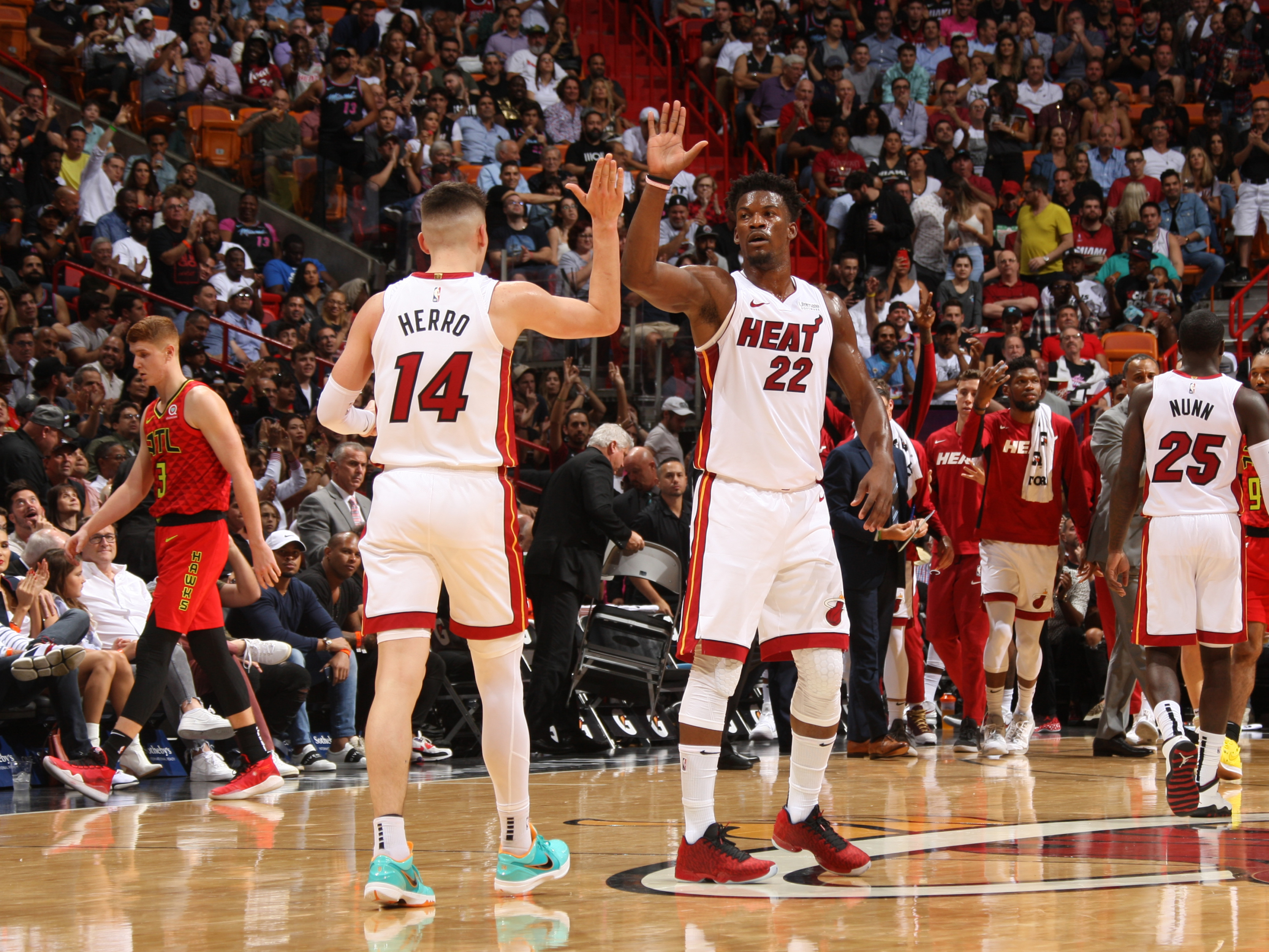 Miami Heat Lovefest Between Jimmy Butler And Tyler Herro Is Real
