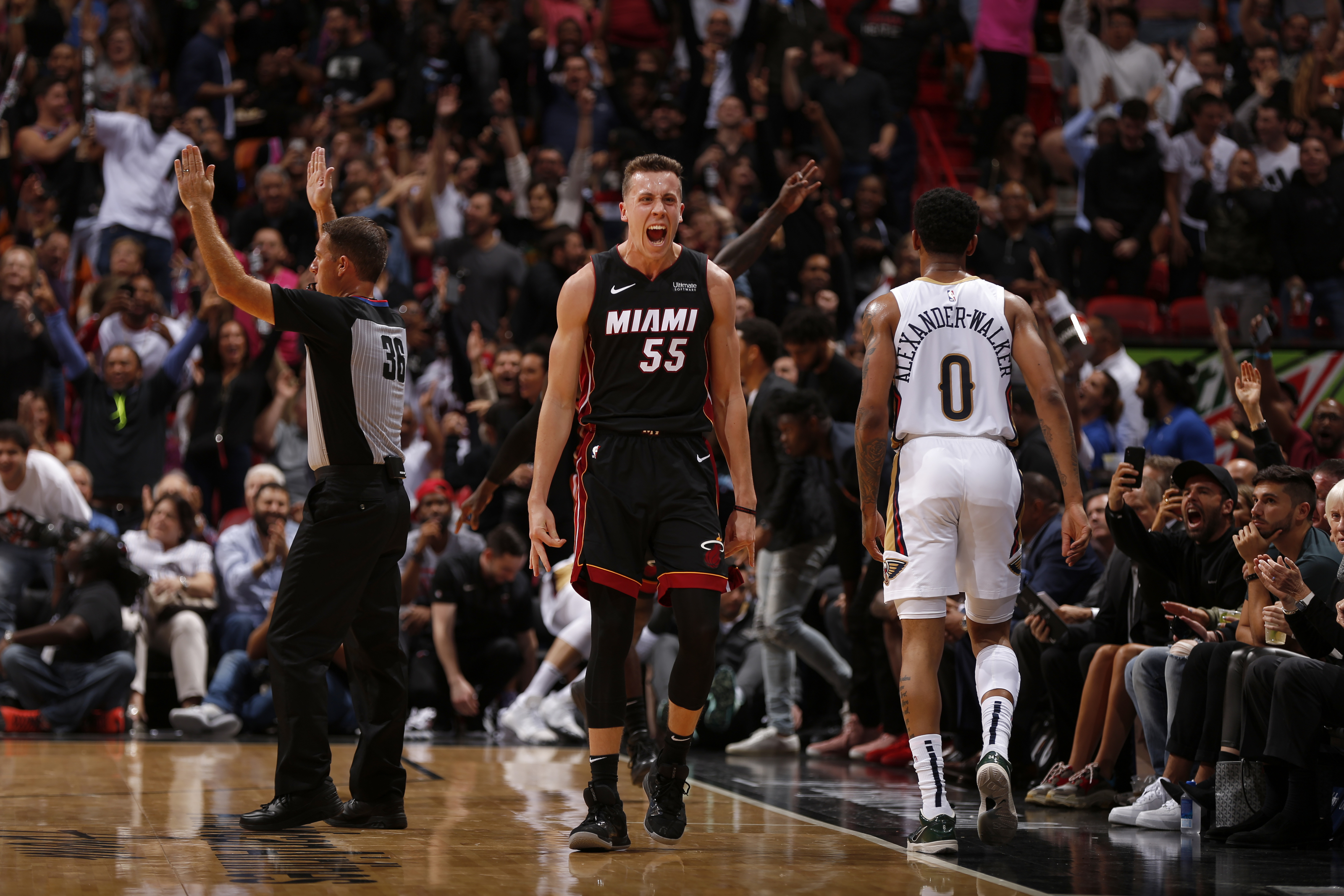 Miami Heat What In The World To Do About Duncan Robinson