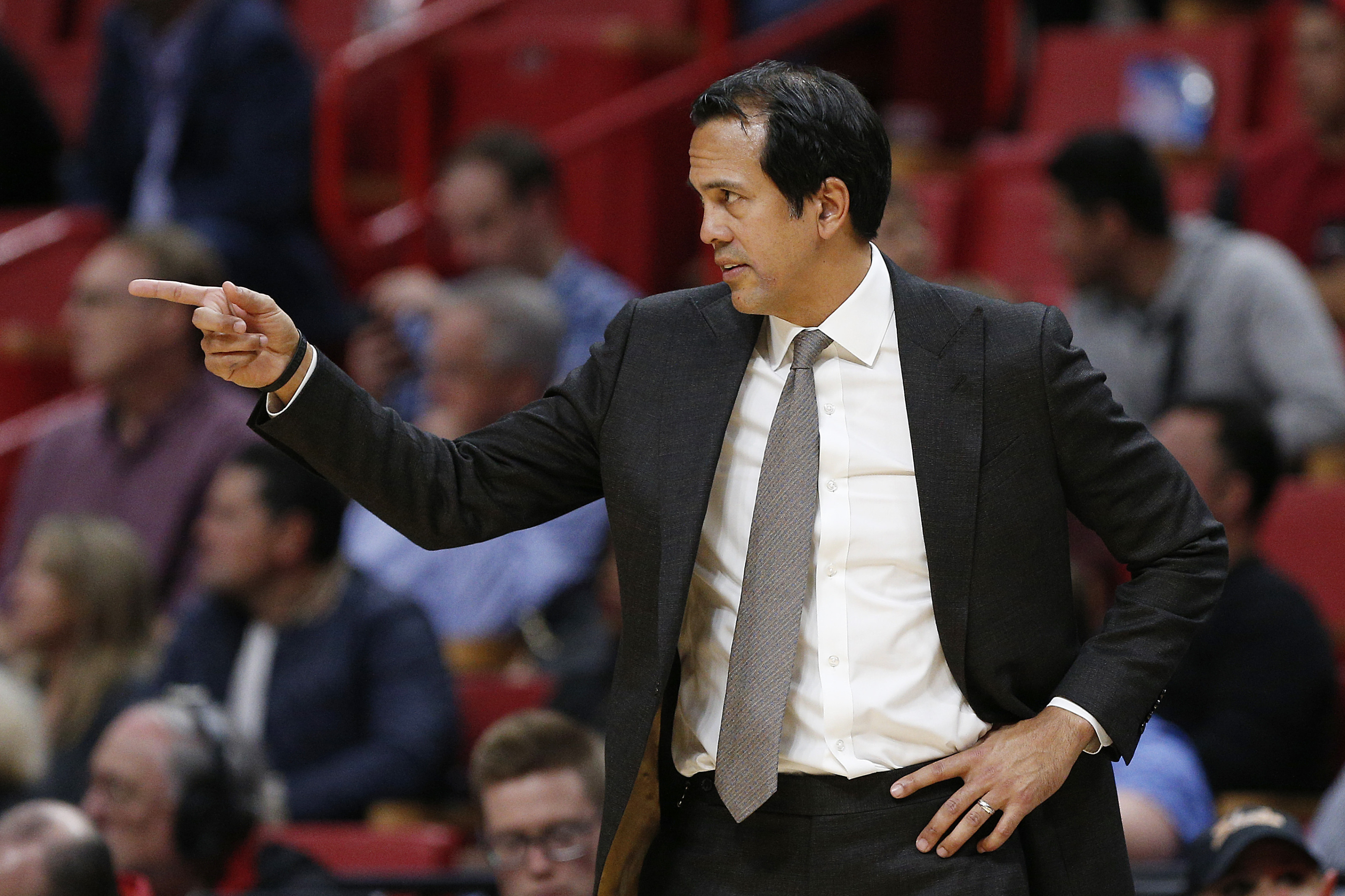 Miami Heat Coach Erik Spoelstra Should Shine In Nba S Return To Action
