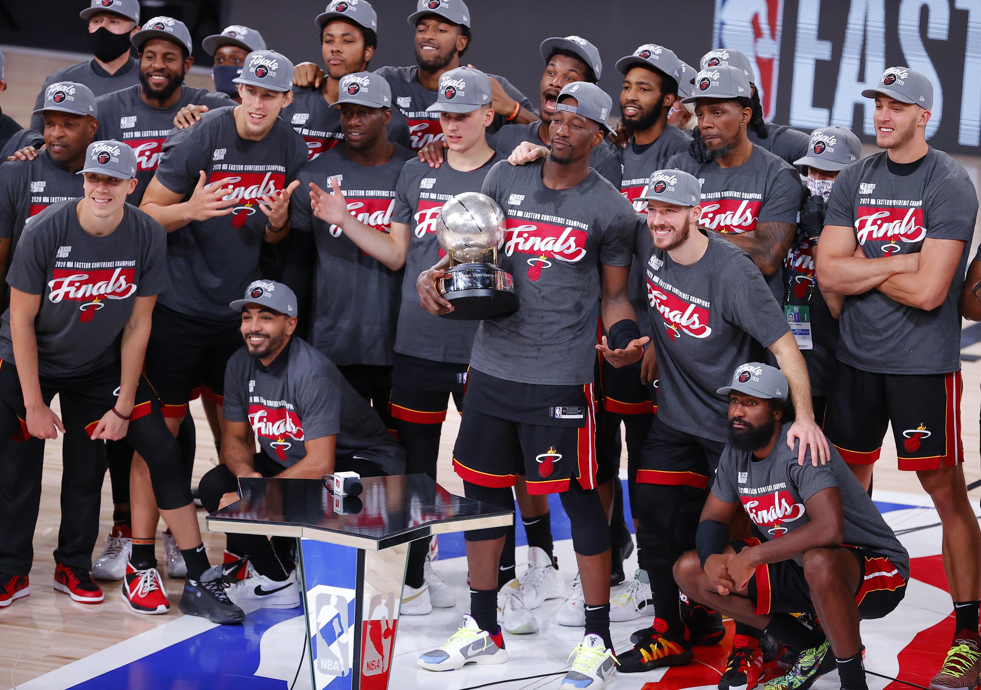 The Miami Heat Advance To The Nba Finals On Bam Adebayo Outburst
